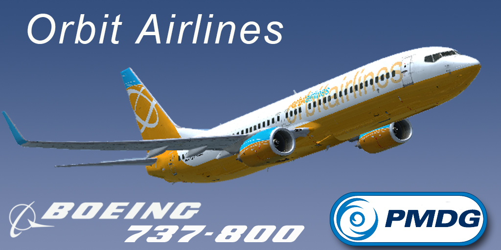 PMDG 737-800WL Orbit Airlines